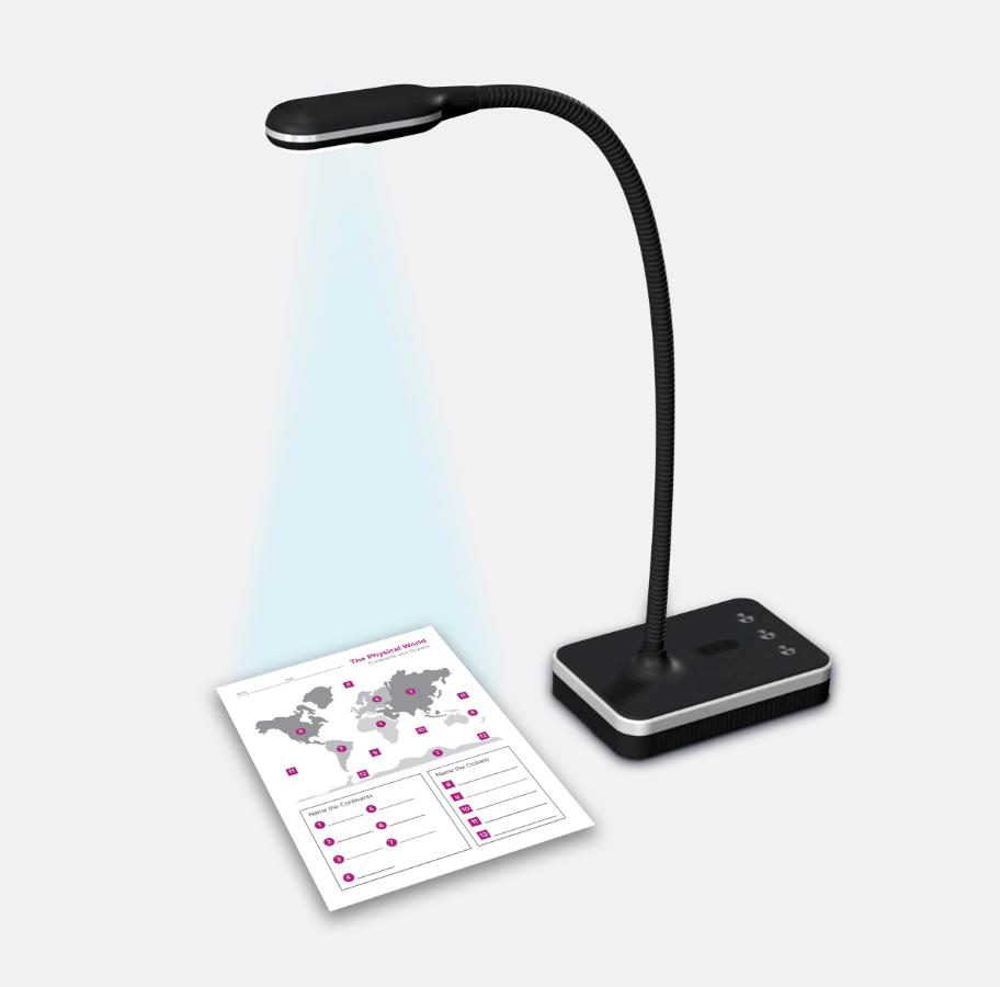 Bright LED Lights & Flexible Neck
