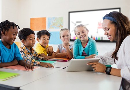 Integrating technology classroom
