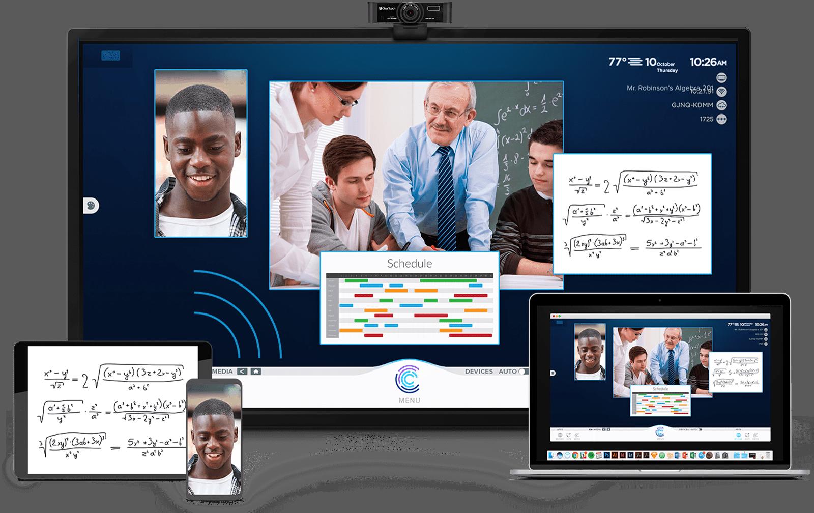 Chorus Screen Web Cam Education