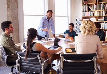 Effective Team Training Room