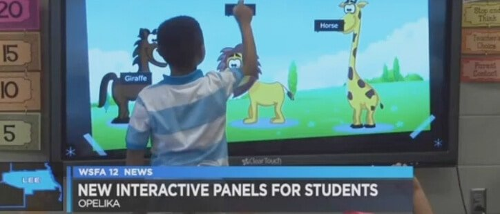 New Hands On technology in Opelika Schools