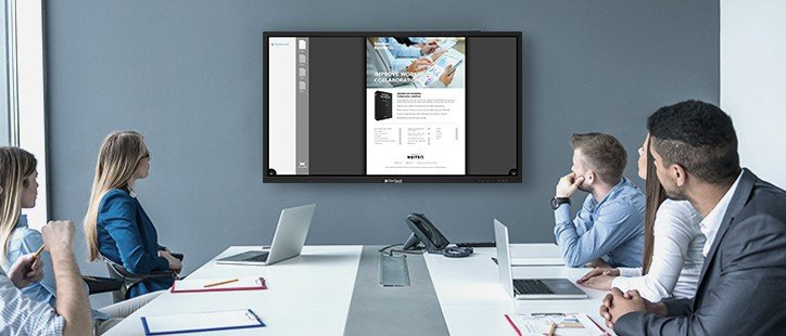 Using Clear Touch in Existing Conference Room