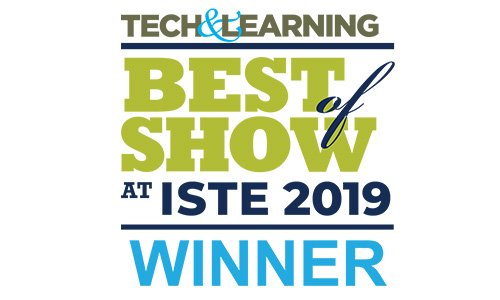 Tech & Learning Best of Show at ISTE 2019