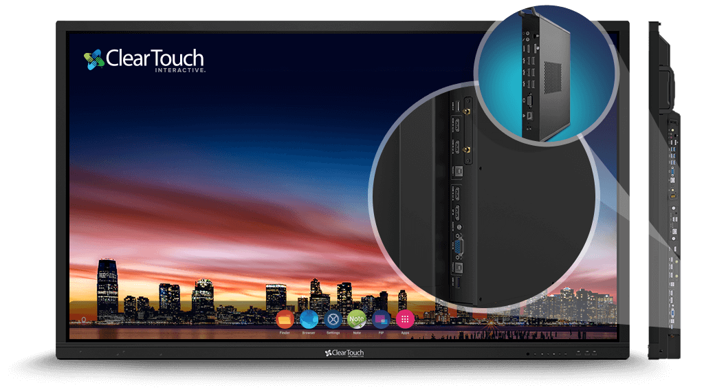 clear touch interactive panel it management