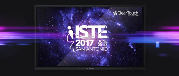 Clear Touch™ reveals new 6000U Series at ISTE 2017
