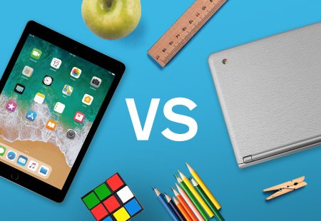 comparing ipad and chromebook in the classroom