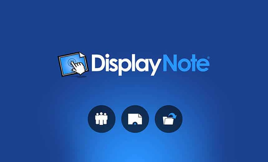 display note software clear touch interactive