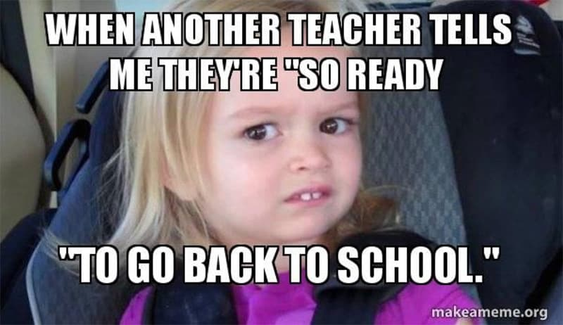 Back To School Memes 2019 Clear Touch Interactive